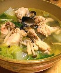 骨付きスープ